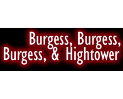 burgess, burgess,burgess and hightower logo