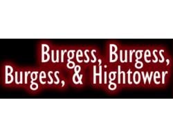 burgess, burgess,burgess and hightower logo