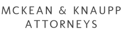 McKean & Knaupp Attorneys,LLC logo