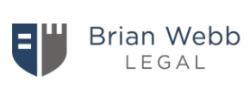 Brian Webb Legal logo