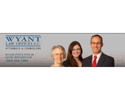 Wyant Law Offices logo
