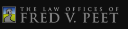 Law Offices of Fred V. Peet logo