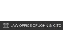 LAW OFFICE OF JOHN G CITO logo