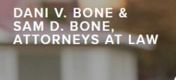 Dani V. Bone and Sam D. Bone, Attorneys at Law logo