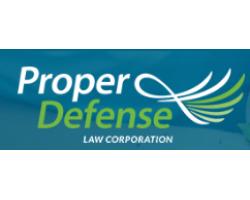 Proper Defense logo