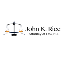 Attorney John K Rice Law logo