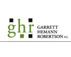 Garrett Hemann Robertson PC logo