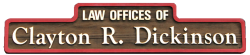 Law Offices of Clayton R Dickinson logo