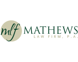MATHEWS LAW FIRM, P.A. logo