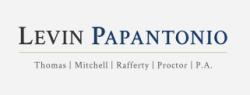 Mike Papantonio - Levin Papantonio logo