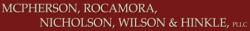 ANTHONY D. NICHOLSON logo