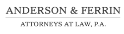 Michael Ferrin - Anderson & Ferrin, Attorneys at Law, P.A logo