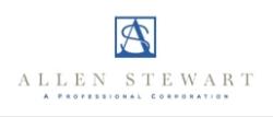 Allen Stewart, P.C. logo