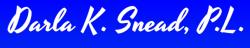 Darla K. Snead logo
