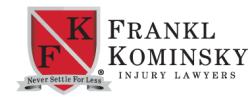Andrew J. Agnini- Frankl & Kominsky Injury Lawyers logo