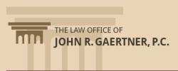 Law office of John R. Gaertner logo