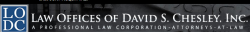 Law Offices of David S. Chesley,  logo