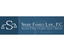 Shaw Family Law, PC logo