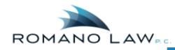 romano law logo