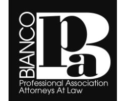Bianco pa logo
