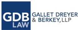 David L. Berkey GDB Law logo