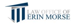 ERIN E. MORSE logo