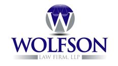 Alfonso Leon -Wolfson law firm logo
