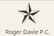 Roger Davie logo